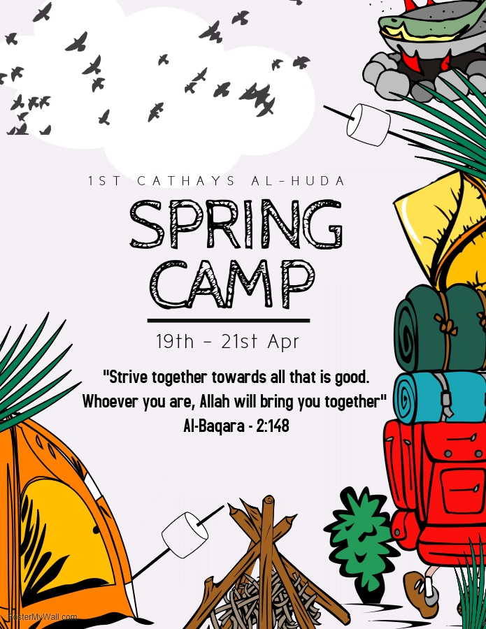 Spring Camp 2019 – 1st Cathays Al-Huda